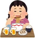 吉野川市食べすぎ女性